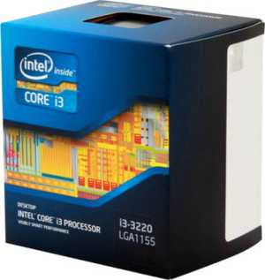 Intel Core i3 3220 Processor 3.3 GHz CPU