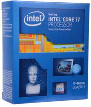 Intel Core I7 4820K 3.7 GHz LGA 2011 Processor CPU