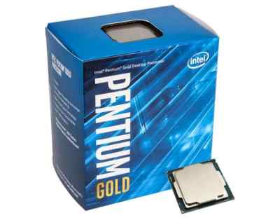 Intel G5400 Processor Pentium Gold 2 Core 3.7GHz LGA1151 300 Series Desktop CPU