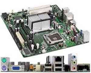 Intel Original DG31 LGA 775 Socket DDR 2 Desktop Motherboard