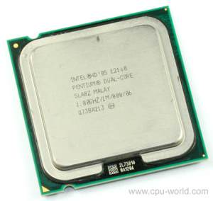 Intel LGA 775 Socket Dual Core Pinless CPU Processor