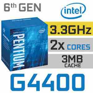 Intel Dual Core G4400 LGA 1151 4th Gen Processor CPU