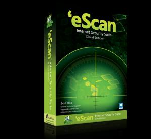 eScan Internet Cloud Edition Security Suite Software CD
