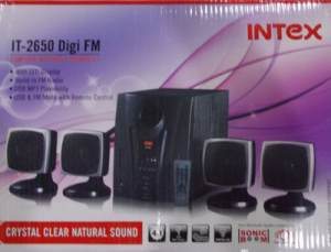 Intex IT 2650 Digi FM 4.1 Multimedia Speakers