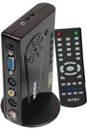 Intex Skypro TFT & LCD/LED External TV Tuner Box