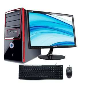 Assembled Latest PC with TFT PC Computer Desktop