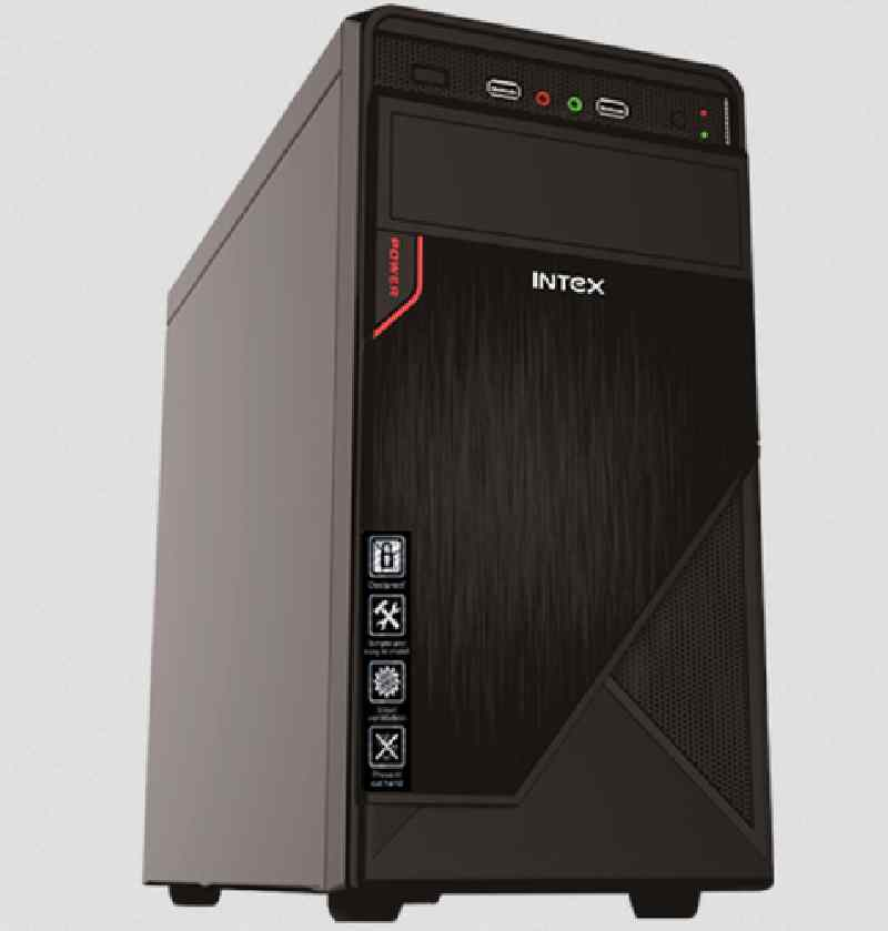 Intex PC Cabinet ATX Without SMPS for Assembled Desktops Computer