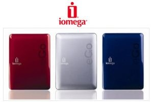 "Iomega eGo 320GB 2.5"" Portable HDD USB 2.0 Hard Disk Drive"