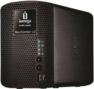 IOmega Ix2-200 Network Storage 2 TB External Hard Disk