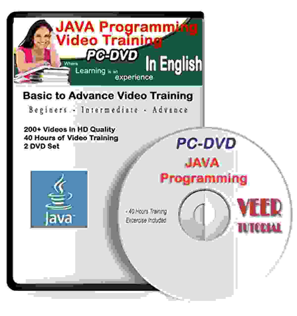 Java Programming Tutorial DVD Basic to Advance Video Training (40 hrs, 200+ Videos) Learning Video