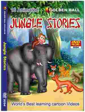 Golden Ball 16 Animated English DVD Jungle Stories