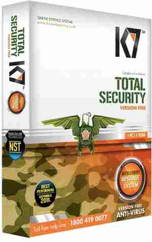 K7 Total Security Software CD