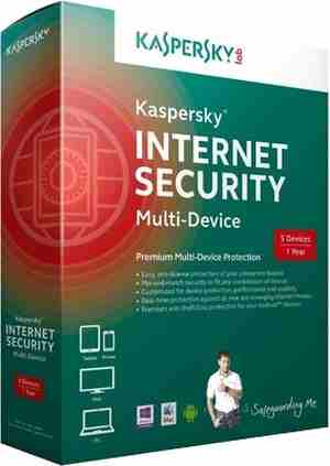 Kaspersky 5 User Multi-Device Internet Security Software