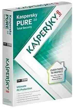 Kaspersky Pure 3.0 Total Security 1 PC 1 Year