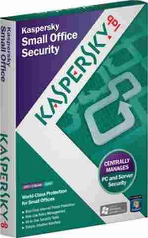 Kaspersky Small Office Security 5 PCs + 1 File Server 1 Year