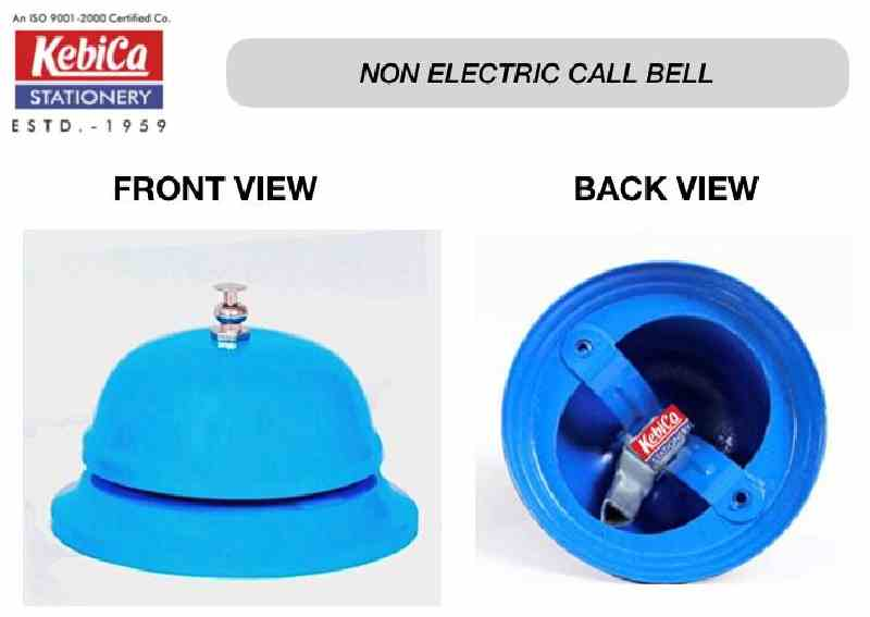 Kebica KCB 2064 NON ELECTRIC BLUE Office Table Call Bell