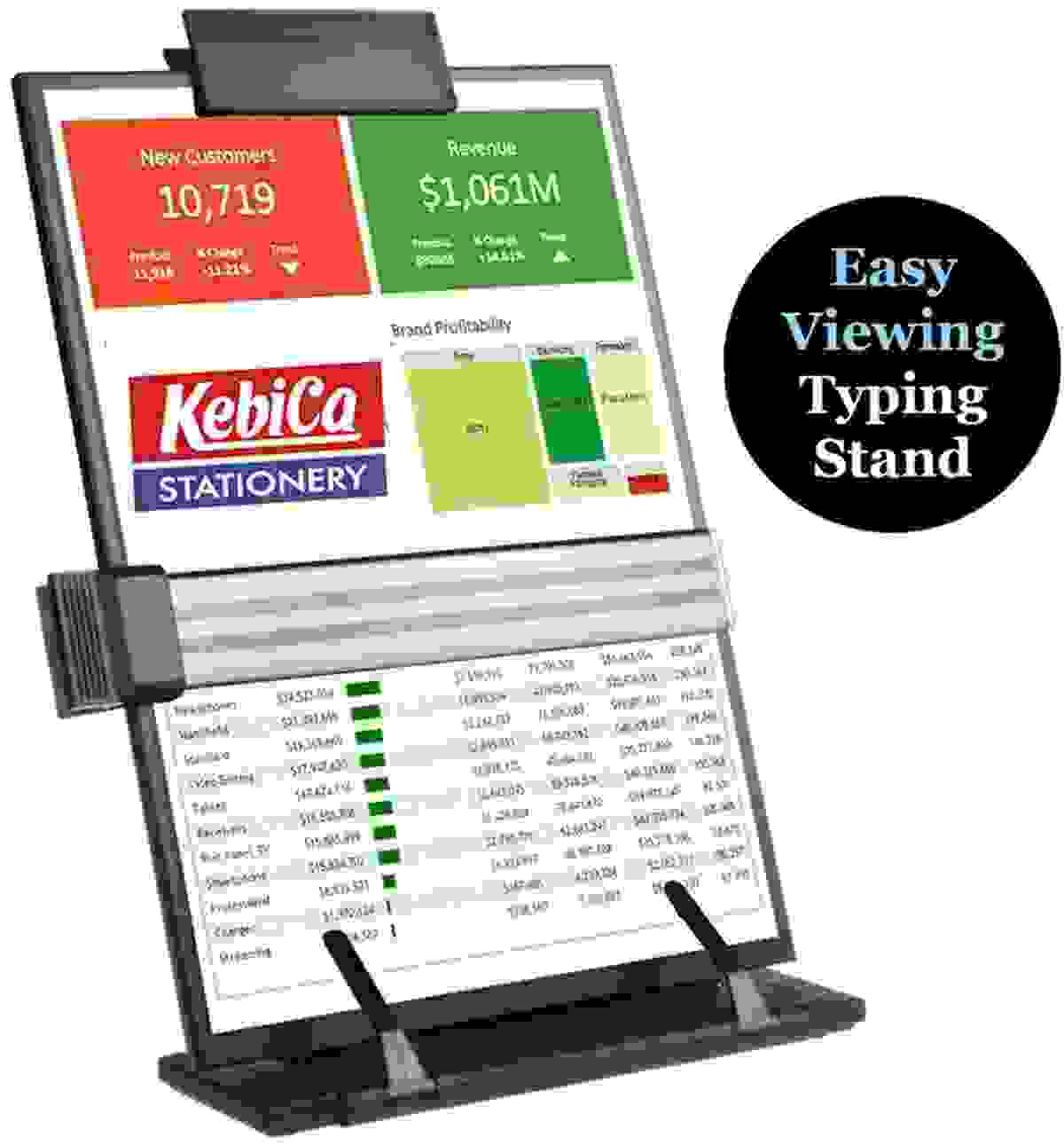 Typing Paper Stand | Kebica Paper Typing Holder Price 9 Apr 2020 Kebica Paper Document Holder online shop - HelpingIndia