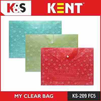 Transparent Doucments Bags | Kent Document Bag File Price 29 Nov 2020 Kent Doucments Holder File online shop - HelpingIndia