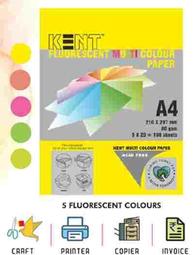 Fluorescent Color Paper | Kent Fluorescent Color Paper Price 19 Apr 2021 Kent Color Paper online shop - HelpingIndia
