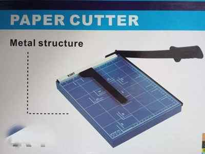 Kent Paper Cutter A3 Size Blue with Handle Manual Paper Cutter