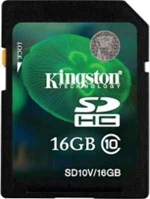 Kingston 16 GB SDHC Class 10 Memory Card