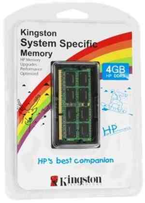 Kingston DDR3 4 GB HP Laptop RAM