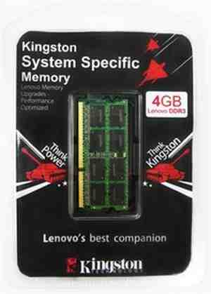 Kingston DDR3 4 GB Laptop RAM (KTL-TP3B/4GFR)