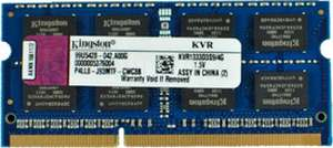 Kingston ValueRAM DDR3 4 GB Laptop RAM