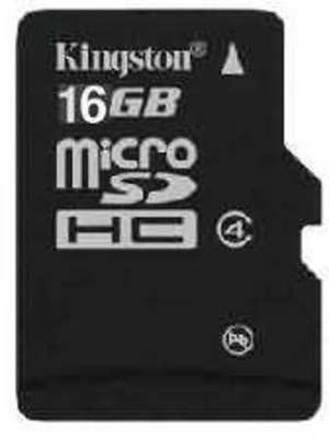 Kingston Memory Card MicroSD 16 GB Class 4