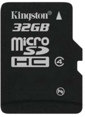 Kingston Memory Card MicroSD 32 GB Class 4