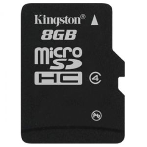 Kingston Memory Card MicroSDHC 8 GB Class 4