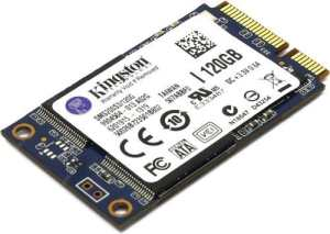 Kingston 120GB mSATA SSDNow mS200 (6Gbps) Solid State Drive SSD