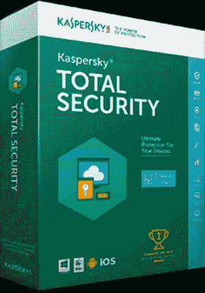 Kaspersky 1 User Multi-Device 2017 Total Security Software