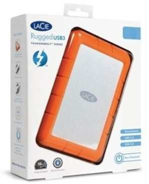Lacie Rugged USB 3.0 Thunderbolt 1 TB External Hard Disk