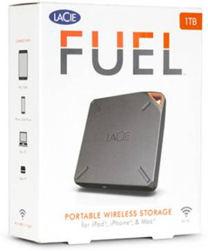 Lacie Fuel 1 TB Wireless external hard drive