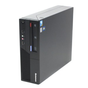 Lenovo ThinkCentre Refurbished C2D 2GB 250GB DVD Small Form Branded Desktop Computer