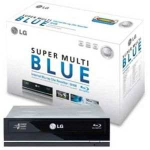 LG Blu-ray BD-ROM DVD-Writer Drive with LightScribe SATA