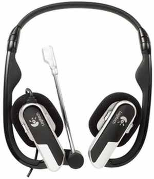 Logitech H555 Laptop Headset Headphone
