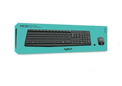 Logitech MK 235 Mouse Combo & Wireless Keyboard