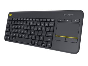 Logitech K400 Plus Wireless Keyboard Mouse Combo Touchpad