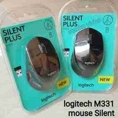 Logitech M331 Silent Plus Laptop Notebook Wireless Optical Mouse