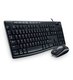 Logitech MK200 USB Multimedia Keyboard&Mouse Combo