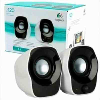 Logitech Z120 Speaker | Logitech Z120 USB Speakers Price@Logitech Z120 Portable Speakers Market Shop - HelpingIndia