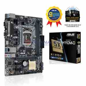 ASUS H110M-D LGA 1151 6th Gen DDR4 Motherboard