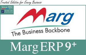 Marg Erp 9+ Silver Billing for POS, Retail, Distribution, Payroll, Manufacturing & Accounting Software