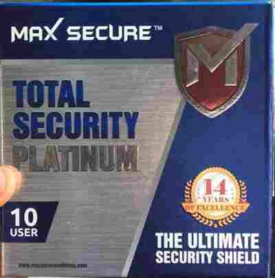 Maxsecure 10 User Box | Max Secure Total Pack Price@Max 10 Cd Pack Market Shop - HelpingIndia