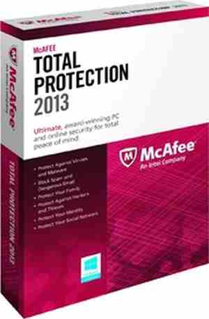 McAfee Total Protection 2015 3 PC 1 Year