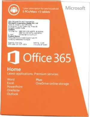 Ms Office 365 Software | MS Microsoft Office Software Price@MS office Premium Software Market Shop - HelpingIndia
