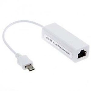 USB Micro RJ45 Ethernet Network Lan Adapter for Tablet