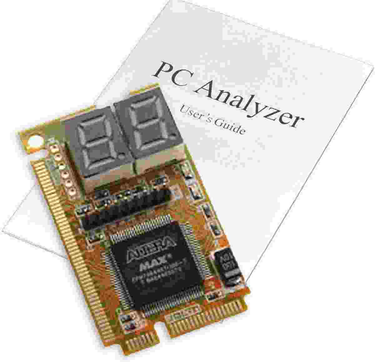 Debug Card 3in1 Mini PCI Pci-e Lpc with User Manual PC Laptop Notebook Combo MotherBoard Debug Card Analyzer Tester